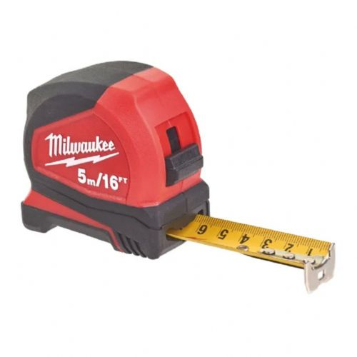 Milwaukee 4932459595 Pro Compact Tape Measure 5m/16ft (Width 25mm)